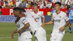 Las mejores imágenes del Sevilla FC-Málaga (2-0)