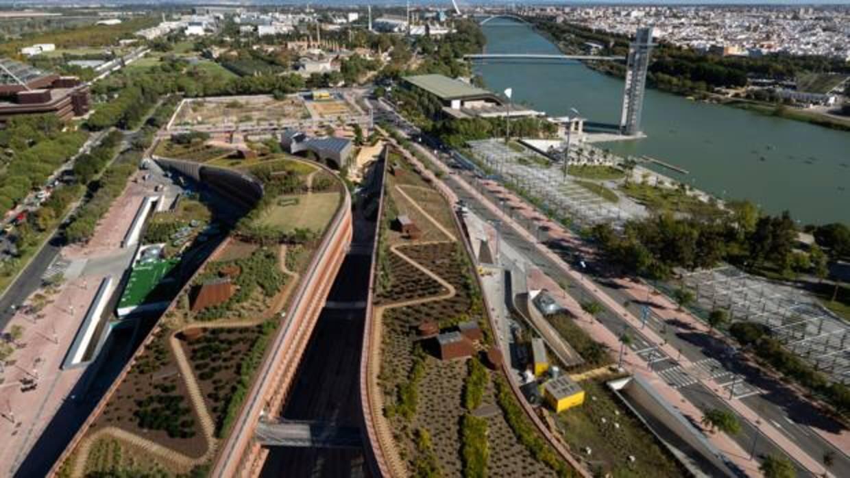 Así será el nuevo centro comercial Torre Sevilla en la Cartuja
