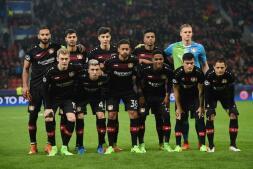 Bayer Leverkusen-Atlético, en fotos