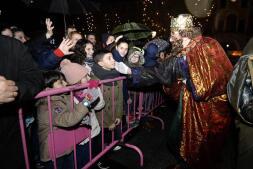 La cabalgata de Reyes de Toledo, en imágenes