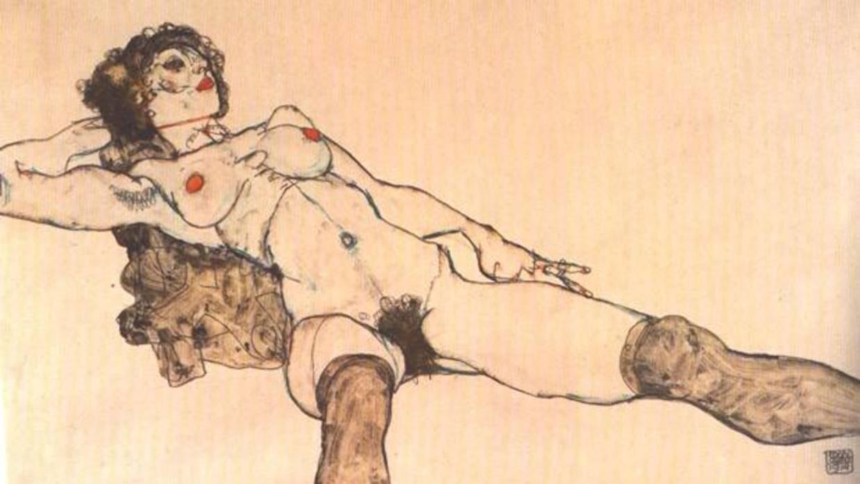 Los desnudos de Egon Schiele, censurados cien años después