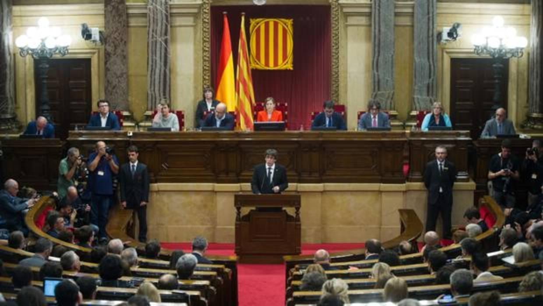 Puigdemont suspende la comparecencia prevista, síguelo en directo