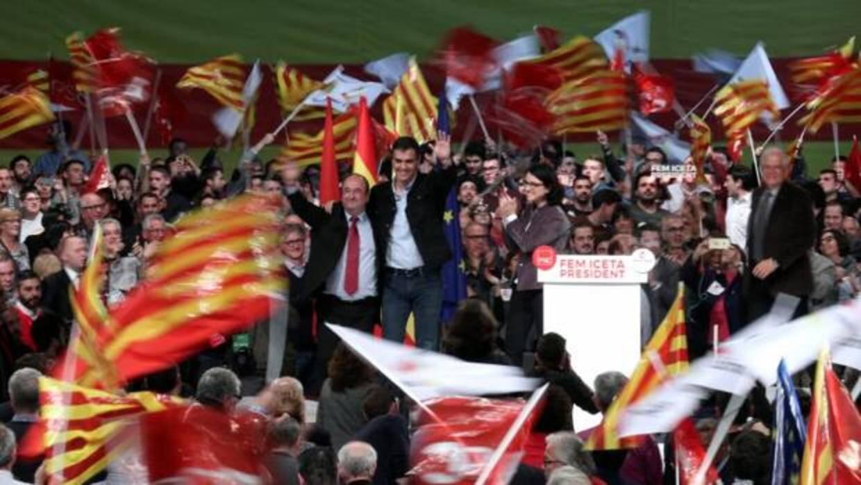 Elecciones Catalanas 21D: Los partidos nacionales echan el resto para ganar la movilización