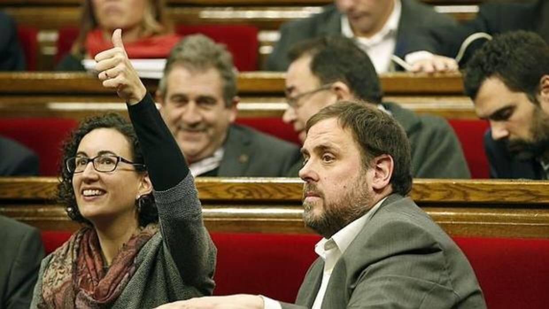 ERC desautoriza a Marta Rovira