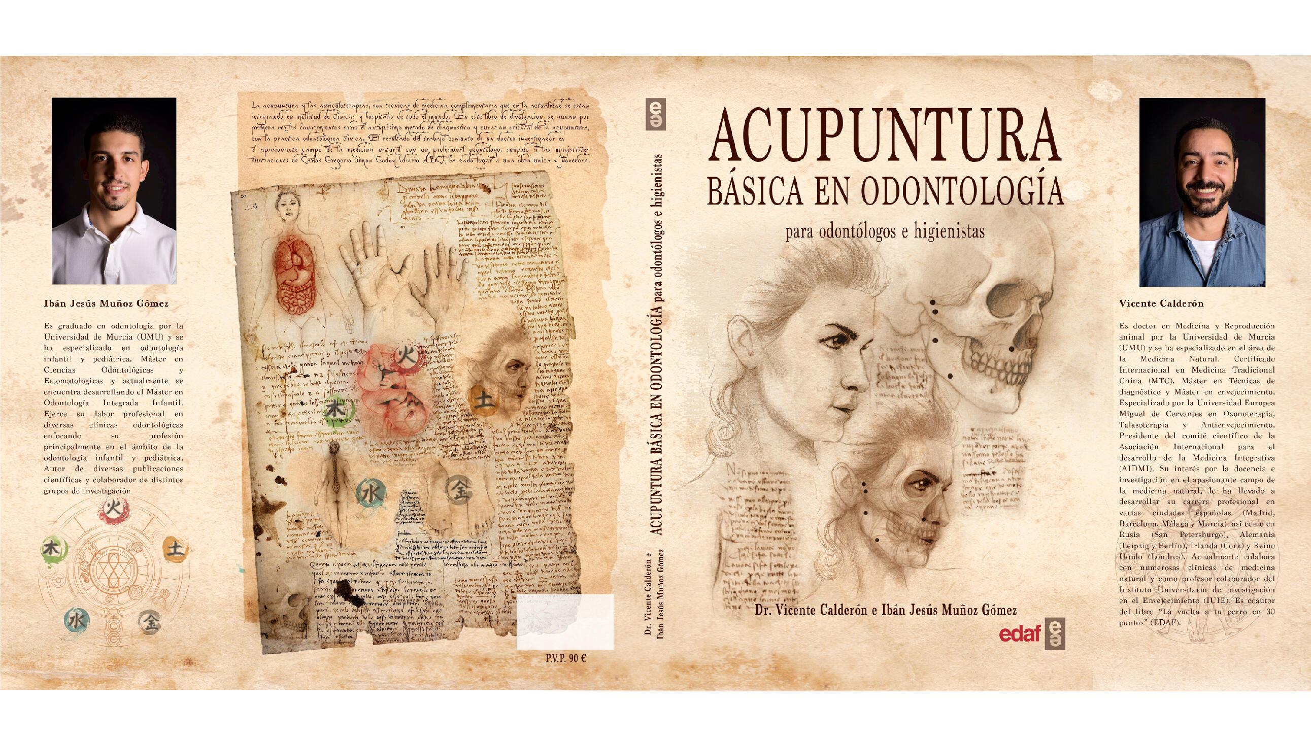 El ilustrador de ABC, Carlos Simon Godoy aporta su arte en el libro «Acunpuntura básica en odontología»
