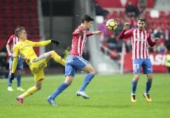 GALERÍA: Las imágenes del partido Sporting-Cádiz C.F.