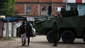 Río de Janeiro, tomado por el ejército ante el repunte de violencia en sus calles