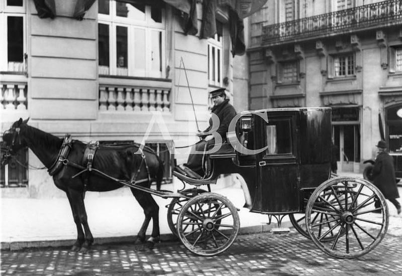 Los coches de caballos