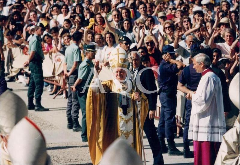 Juan Pablo II en Madrid