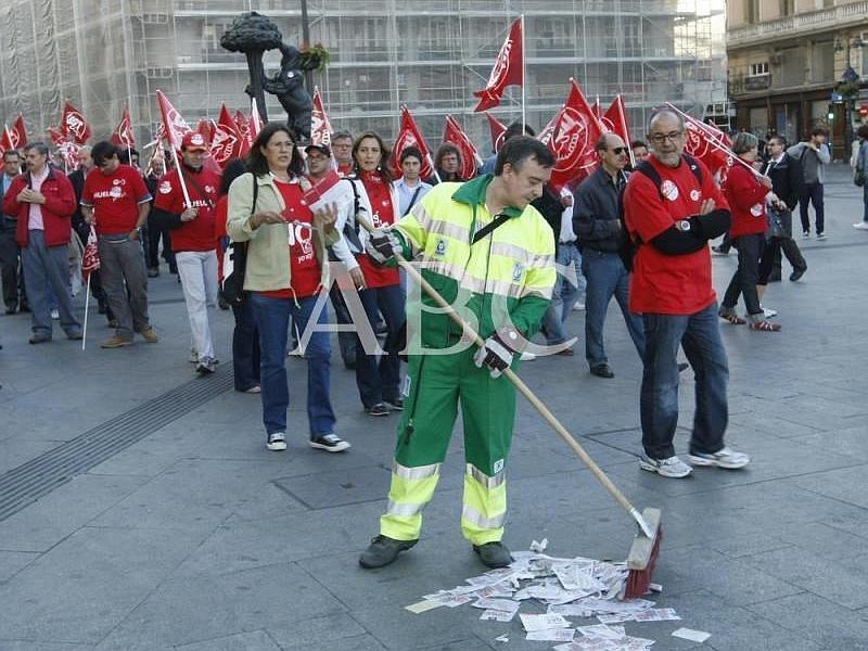 La huelga general de 2010 en España
