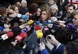 Susana Díaz dice estar «cansada» de Pablo Iglesias