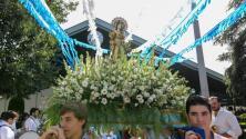 La Virgen de la Asunción recorre el barrio del Figueroa