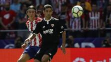 Las mejores imágenes del Atlético de Madrid-Sevilla FC