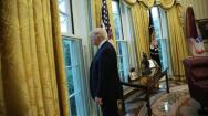 Las imágenes de los primeros 100 días de Trump como presidente de EE.UU.