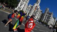 En imágenes: La marcha mundial del Orgullo Gay en Madrid