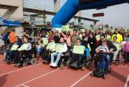 Carrera solidaria de ASEM en Talavera