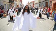 En imágenes: así fue el Desfile de Resurrección de la Semana Santa Marinera