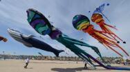 Cometas sobre el cielo de Valencia: el Festival Internacional del Viento, en imágenes