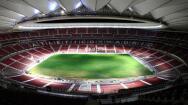 Atlético: colocado el césped en el Wanda Metropolitano