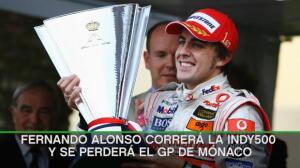 F1 - Alonso aspirará a ser leyenda en Indianápois