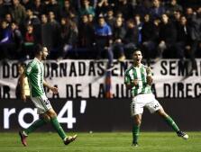 Las mejores imágenes de la victoria del Betis frente al Osasuna