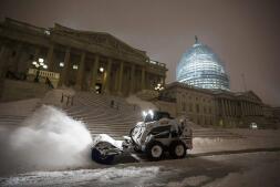 La tormenta «Jonas» cubre EEUU de nieve