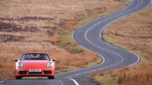 718 Boxster, el primer Porsche con motor de cuatro cilindros turbo