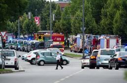 En imágenes: un tiroteo conmueve al centro de Munich