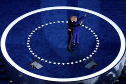 Las imágenes de la tercera jornada de la Convención Nacional del Partido Demócrata