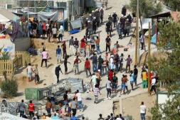 La evacuación del campo de refugiados de Moria