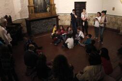 En imágenes: taller gastrónomico para familias en el Museo del Greco