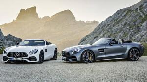 Mercedes-AMG GT Roadster y Mercedes-AMG GT C Roadster
