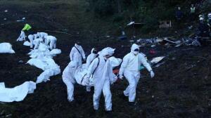 Las imágenes de la tragedia aérea del Chapecoense