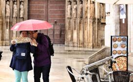 Fotogalería: las lluvias mantienen en alerta amarilla a Valencia