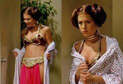 Famosas disfrazadas de la Princesa Leia
