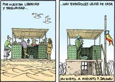 Las viñetas militares de J.M. Nieto por el día de la Pascua Militar