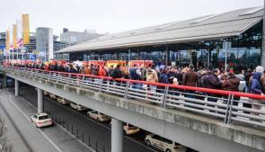 Cierran temporalmente el aeropuerto de Hamburgo