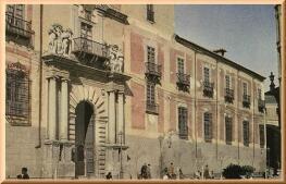 El incendio en el Palacio Arzobispal en julio de 1939, en imágenes