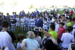 La clausura de las escuelas sociodeportivas del Real Madrid, en imágenes