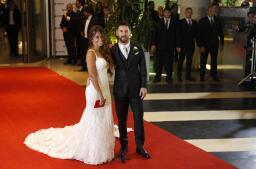 La alfombra roja de la boda de Leo Messi y Antonella Rocuzzo, en imágenes