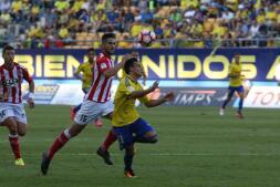 Las imágenes del partido Cádiz CF - Girona FC