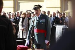 La toma de posesión del nuevo jefe de la Guardia Civil, en imágenes