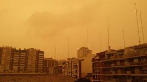 La lluvia de barro sobre Sevilla según los lectores de ABC