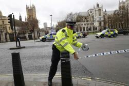 Las imágenes tras el ataque en el centro de Londres