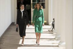 Melania Trump: la diplomacia de la moda