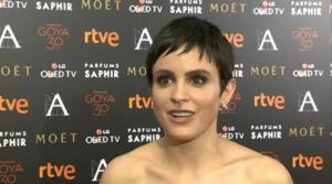 Verónica Echegui aclara que sigue con Álex García