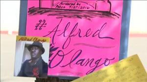 Protestas en El Cajón, Estados Unidos, por el último negro muerto a manos de la policía