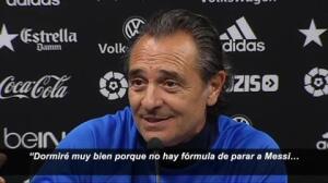"""Prandelli: """"No hay forma de parar a Messi"""""""