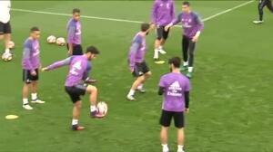 Todo a punto en el Real Madrid para recibir al Athletic