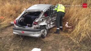 Muere mujer al chocar su coche contra otro en Chinchón
